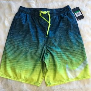 "NWT NIKE 9"" HORIZON VOLLEY SHORTS/SWIM TRUNKS"